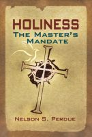 Holiness-The-Masters-Mandate-Front-Small